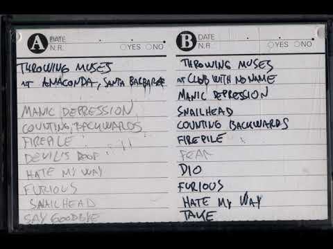 Throwing Muses live at Club With No Name 11/11/92 (bootleg audience recording)