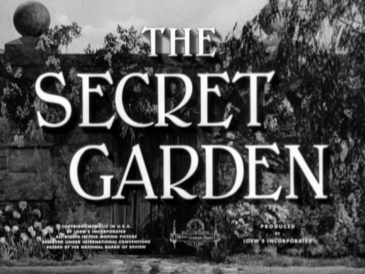 April 1949: The Secret Garden – Random Thoughts
